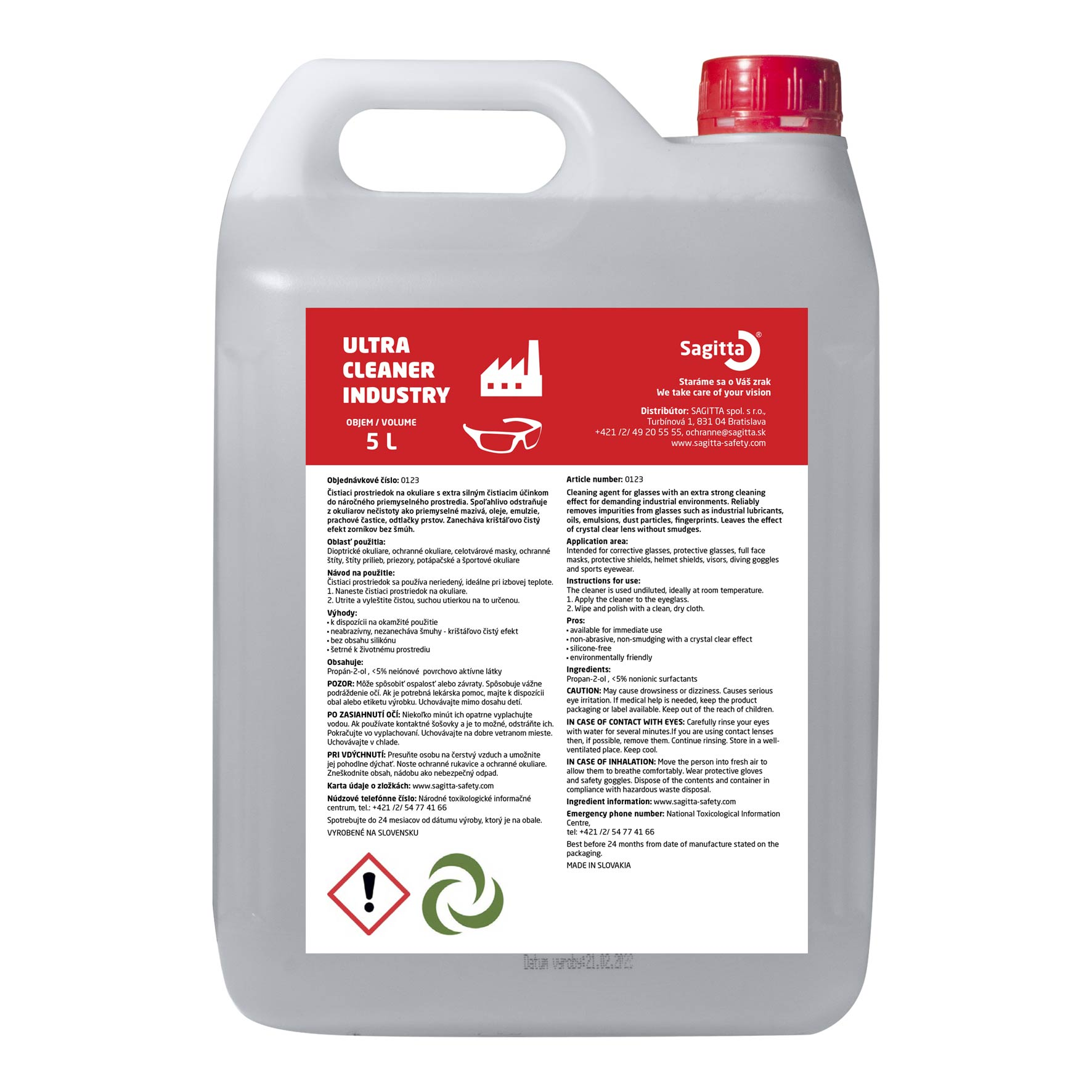 ULTRA CLEANER INDUSTRY  5L